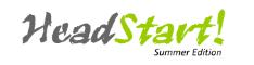 Headstart Summer 2009