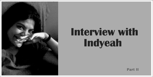 Indyeah interview Part 2