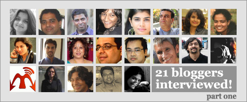 Indian bloggers interview
