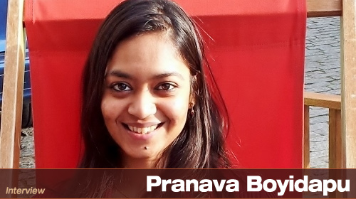 Interview With Pranava Boyidapu