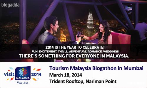 Tourism Malaysia Blogathon in Mumbai!