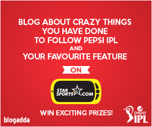 Blog and Win this IPL 2014