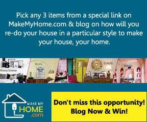 MakeMyHome BlogAdda Contest