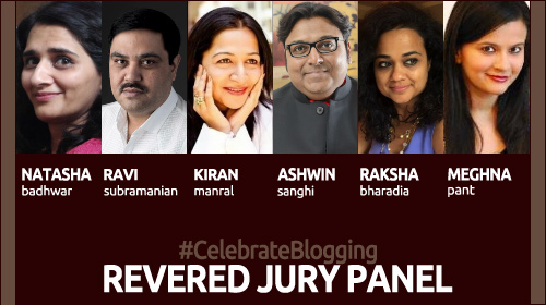 Celebrate Blogging - Revered Jury panel