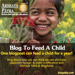 Blog to Feed a child!