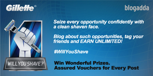 Gillette #WillYouShave activity