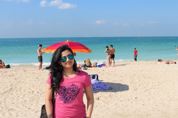 Shilpa at beach
