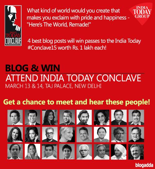 india-today-conclave-2015-blogadda-bloggers