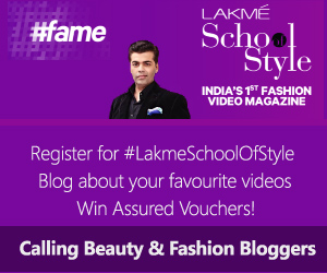 Blog & Win with Lakme and BlogAdda