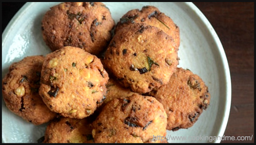"""Masala Vada Recipe by Nags"""