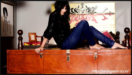 Leather everywhere by Pranita Mehta