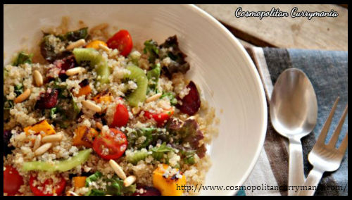 Detox Quinoa Salad With Roasted Veggies by Purabi