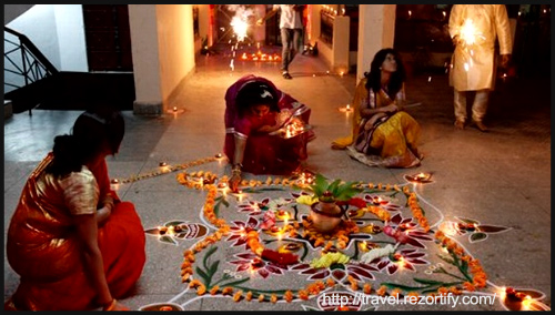 Places to celebrate Diwali by Rezortify at BlogAdda