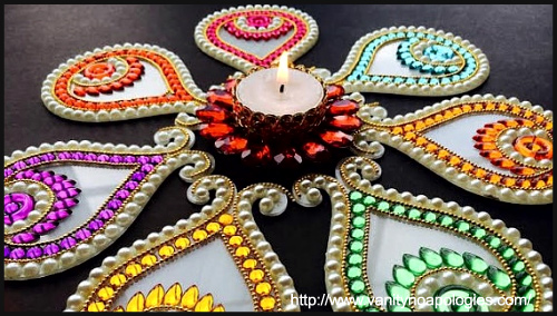 Rangoli Designs by Anshita at BlogAdda
