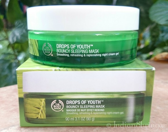 TBS Drops Of Youth Bouncy Sleeping Mask