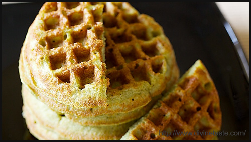 Green Gram Waffle Recipe - BlogAdda Collective