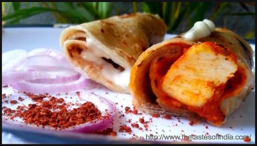 Cheesy Paneer Wrap BlogAdda Collective