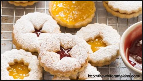 Cashew Linzer Cookie Recipe BlogAdda Collective