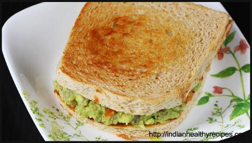 Guacomole Sandwhich Recipe BlogAdda Collective