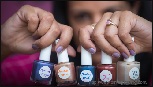 DIY EyeShadow To Nail Polish - BlogAdda Collective