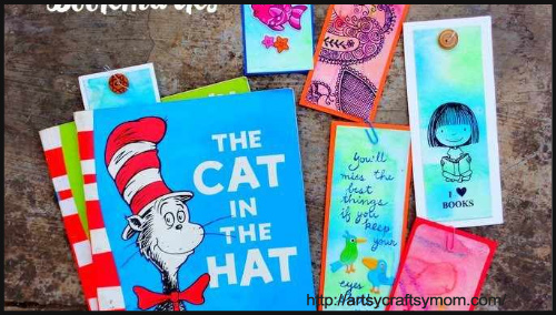 Easy Water Color Bookmarks By Ujjwal Goel - BlogAdda Collective