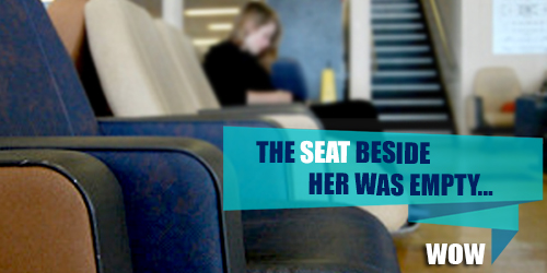 wow-The-seat-beside-her-was-empty