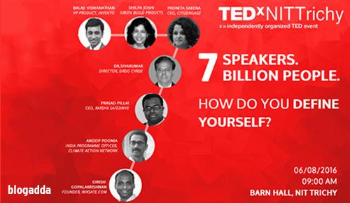 TEDxNITTrichy 2016