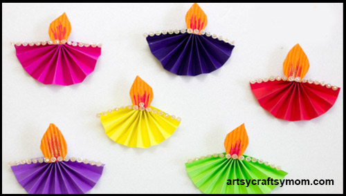 Diwali Home Decor Craft Ideas By Indian Bloggers And Artists - home decor crafts with paper