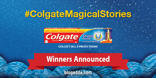 Winners Announced #ColgateMagicalStories