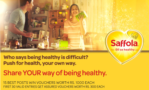 Saffola - Share YOUR way of being healthy