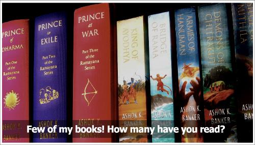 Ashok Banker Books