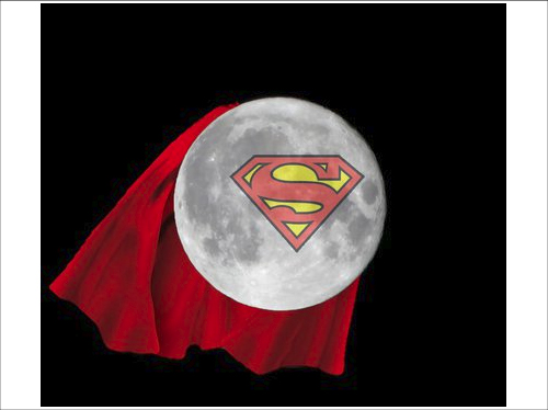 In case you missed the supermoon ~ from my FB dost logs