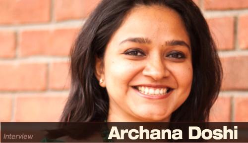 Archana Doshi of Archana's kitchen