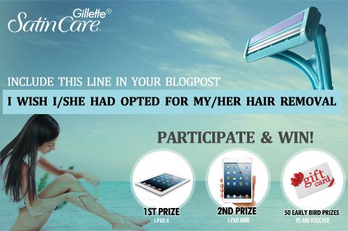 Gillette Satin Care Contest
