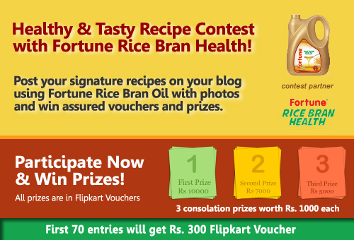 Fortune Rice Bran Health Oil Contest
