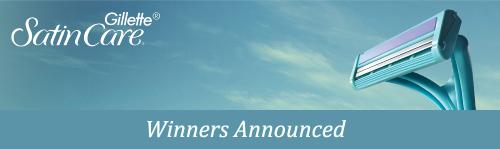 Gillette Satin Care winners announced