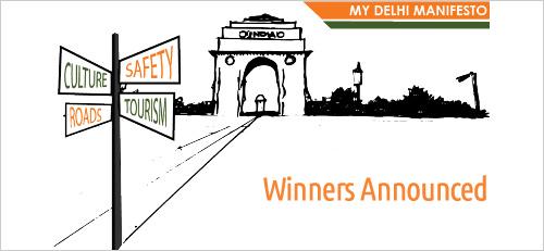 Winners  for Delhi Manifesto Contests Announced