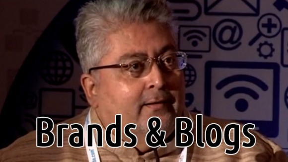 Anaggh Desai speaks on blogs and brands