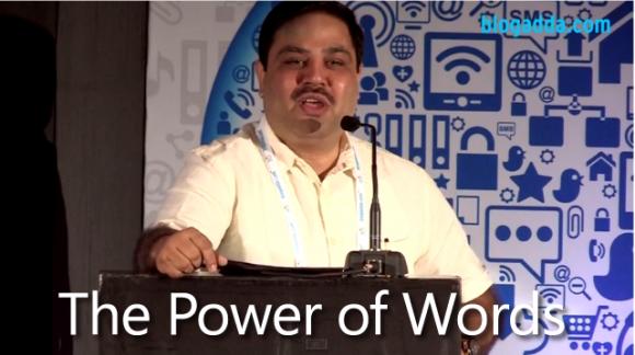 Power of Words by Ravi Subramaniam