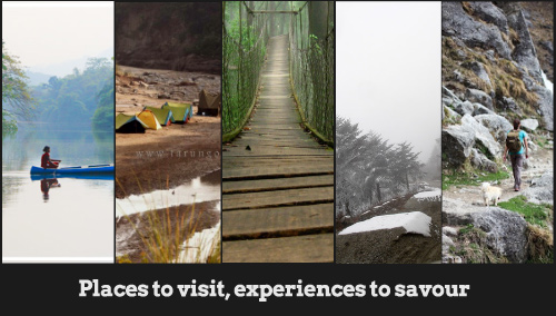 Places to visit, experiences to savour