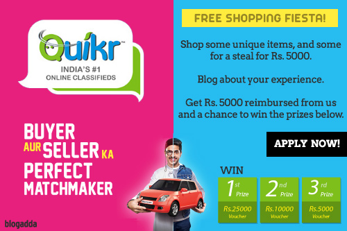 Quikr Blog Review
