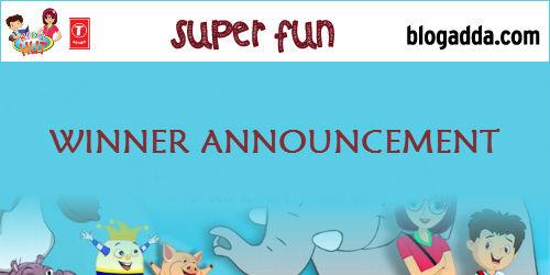 Winner Announcement: Kids Hut by T-Series activity