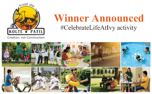 Winner Announced-#CelebrateLifeAtIvy Kolte Patil Developers