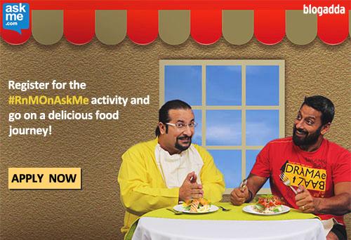 Let #RnMOnAskMe take you to your favourite food nearby!