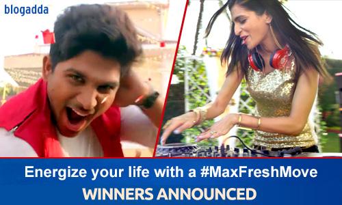 Winner Announcement: #MaxFreshMove Phase 1