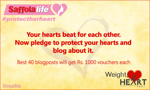 Join the Saffolalife #ProtectHerHeart initiative for a healthy heart!