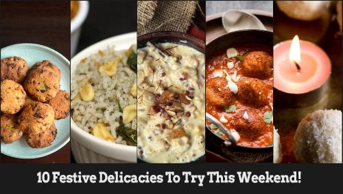 Festive delicacies! - Festive Recipes at BlogAdda