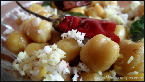 """GUGGILLU – KABULI CHANNA RECIPE by Mast Recipes"""