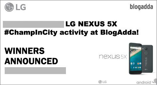 WInners ChampInCity activity BlogAdda