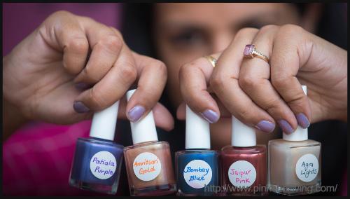 DIY EyeShadow To Nail Polish - BlogAdda Collective